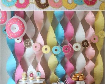 Bannière personnalisée Donut