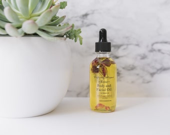 Rose Body and Face Oil