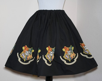 Harry Potter, Hogwarts Skirt for Gals, One size fits all, Plus Size