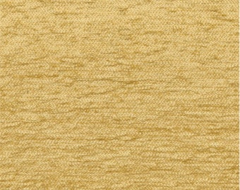 Marigold Yellow Chenille Home Decorating Fabric, Fabric By The Yard