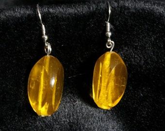 3 sided Dice Earrings