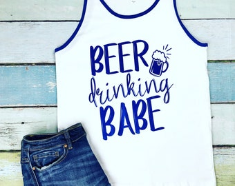 Drinking Shirt, Vacation Tank Top, Lake Tank Top, Concert Tank Top, Women's Tank, Drinking Tank Top, Good Times Tank, Tank Top, Beer Tank
