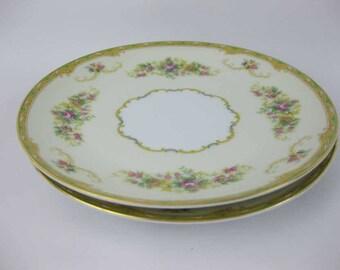 Vintage Noritake Salad Plates (2) #N1014 Circa 1933