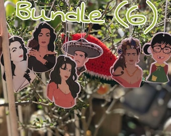 Mexican Icons- Bundle of (6)