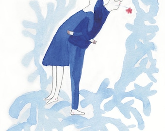 Have lan shi is a (love is blue No.5)