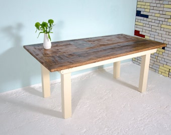 Dining table in the country house style Helmholtz III