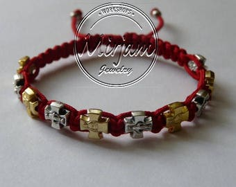 Faith Blessing Bracelet - Mixed Medals