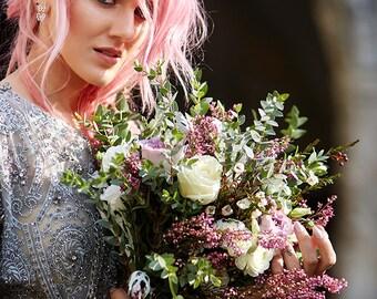 Boho wedding bouquet | Bridal bouquet | Preserved bridal bouquet | Wild bouquet | Wedding bouquet | Woodland, rustic bouquet | Boho flowers