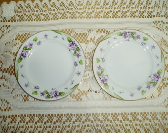 Two Noritake Nancy Bread and Butter Plates