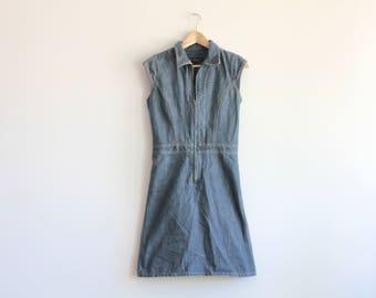 Jean beauté - zip up mini