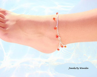 Chain of Fire Anklet