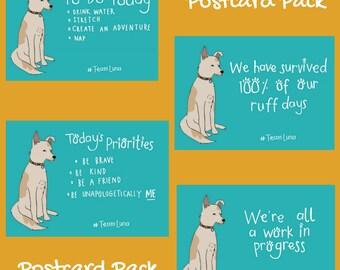 Team Luna Postcard Pack