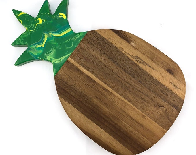 Marbled Pineapple Cheese Board
