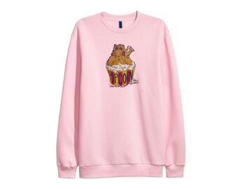 ALF TV Show sweater sweatshirt 90s - Sz Men M-L