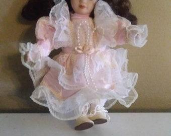 Estate Sale Porcelain Doll