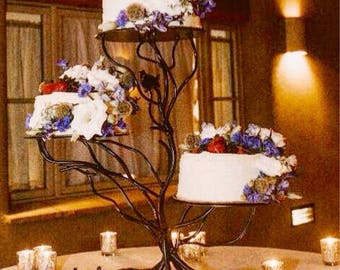 Iron Twig 3 Tiered Cake Stand Weddings & party server