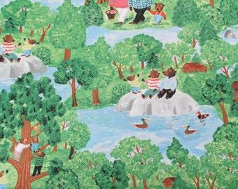 Windham Fabrics The Three Bears Fabric -yardage