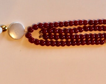 Red Passion Nacklace Agate made in Italy