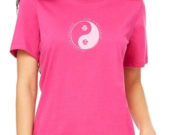 Gymnastics Shirt / Women's t-shirt / gymnast shirt / gymnastics gift/ girls gymnastics / Gift for women / Inspirational shirt /Yin Yang