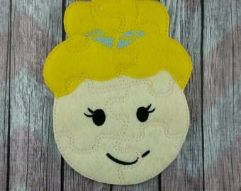 Cinderella Princess Face Puzzle