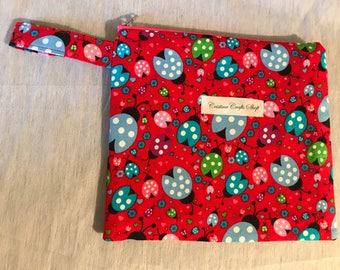 Ladybug notion pouch