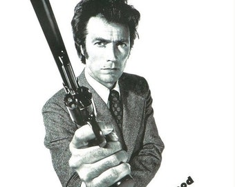 Spring Sales Event: MAGNUM FORCE Movie Poster Clint Eastwood Dirty harry