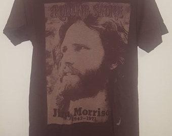 Jim Morrison-Fade Rolling Stone Magazine Cover #88 T-Shirt