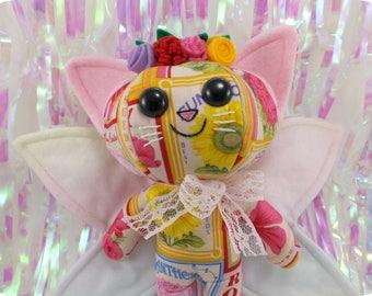 Fairy Cat Plush - Bright & Floral