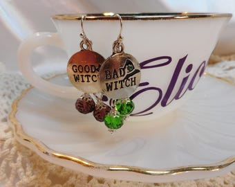 Good Witch / Bad Witch Earrings