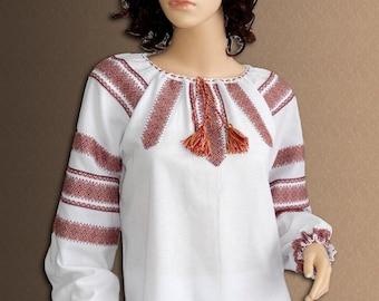 Ukrainian embroidered women's blouse Vyshyvanka Ukrainian clothing Ethnic sorochka Ukrainian embroidery ethnique women's blouse