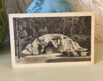 Our Lady Of Lourdes NY Postcard