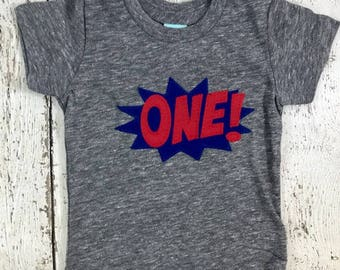 Superhero shirt, superhero party, Birthday Shirt, superhero party, pow, boys clothing, boys shirt, clothing, superhero invite