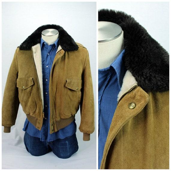Sherpa Bomber Jacket - Authentic Vintage