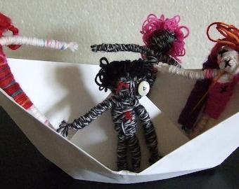 Voodoo to go - just magic dolls