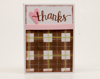 Set of 6-Thanks from the Heart Cards