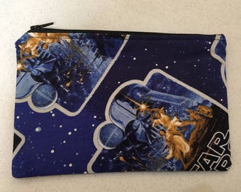 Star Wars inspired zip bag.