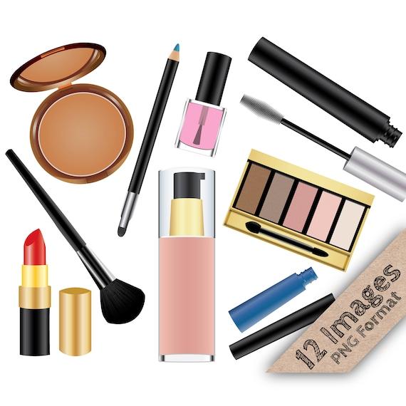 makeup clip art make up clipart cosmetic clipart lipstick rh etsystudio com makeup clip art cosmetics makeup clipart black and white