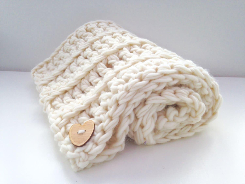 Anfänger Häkeln Kit-Luxus-Baby-Decke. DIY lernen häkeln