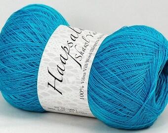 100% Wool Turquoise Yarn Haapsalu Shawl Yarn