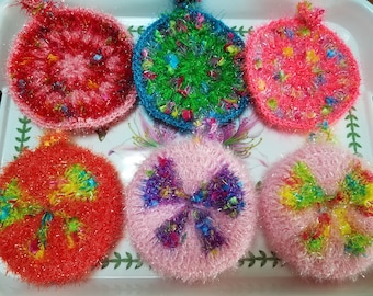 Handmade crochet scrubber / scrubbies / dishcloth