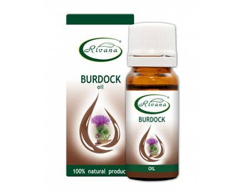 Burdock Oil Carrier Base Oil Pure Premium Quality 10/100 ml Aromatherapy 100% Natural / Essential oil Without Preservatives