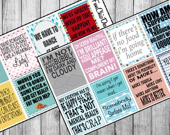 16 Grey's Anatomy Tv Show Quotes | Planner Stickers