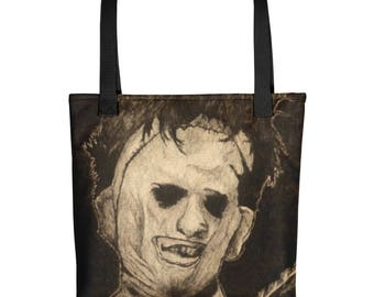 The Texas Chainsaw Massacre Leatherface Tote bag