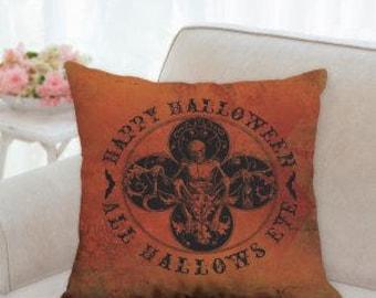 Happy Halloween All Hallows Eve Pillow