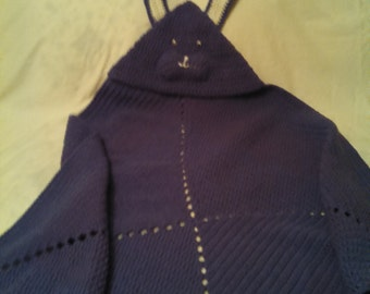 Rabbit Hooded Baby Wrap