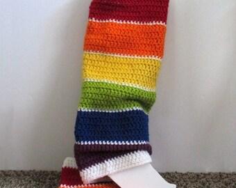 Rainbow Leg Warmers, Crochet Leg Warmers, Leg Warmers, Yoga Leg Warmers, Ballet Leg Warmers, Winter Accessories, Gifts for Her, Teen Gift