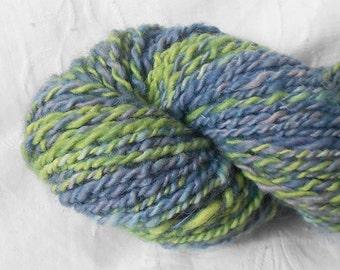 Green/blue/purple Handspun Yarn