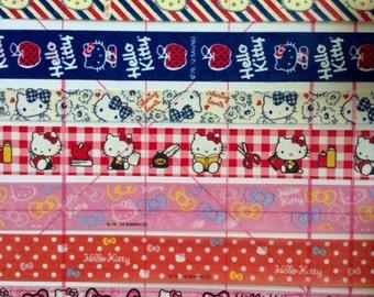 "18""-24"" Hello Kitty washi tape samples, filofax washi tape, kitty cat washi tape"