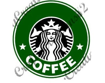 Starbucks SVG Image Ready To Use Just Add Name