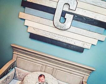 Wood Plank Wall Art | Nursery Art | Nursery Decor | Baby Boy | Baby Girl | Wall Art | Wood Art | Boy Nursery | Girl Nursery
